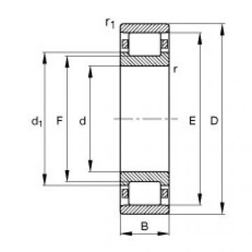 підшипник N332-E-M1 FAG