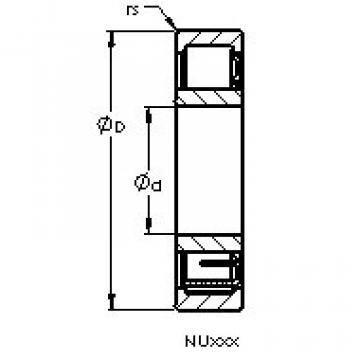 підшипник NU336 M AST