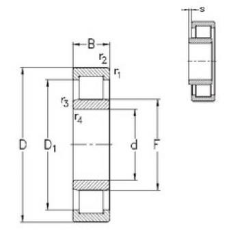 підшипник NU2210-E-MA6 NKE