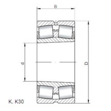 підшипник 23930 KW33 ISO