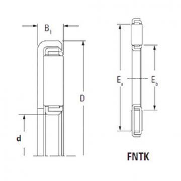 підшипник FNTK-4062 KOYO