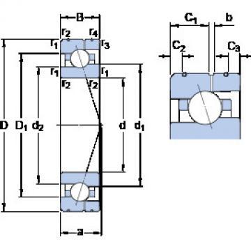 підшипник 7018 CE/HCP4AL SKF