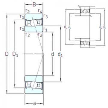 підшипник HX55 /S 7CE3 SNFA