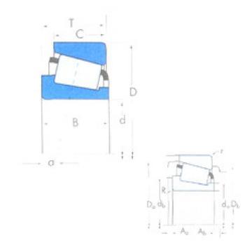 підшипник 750A/742 Timken