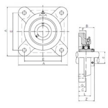 підшипник UCF318 ISO