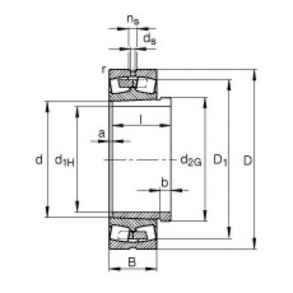 підшипник 230/560-B-K-MB + AH30/560A-H FAG #1 image