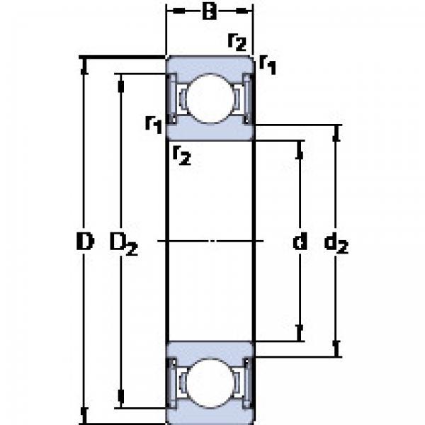 підшипник W 638-2RS1 SKF #1 image
