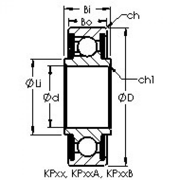 підшипник KP56B AST #1 image