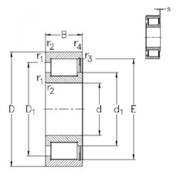 підшипник NCF28/950-V NKE #1 image