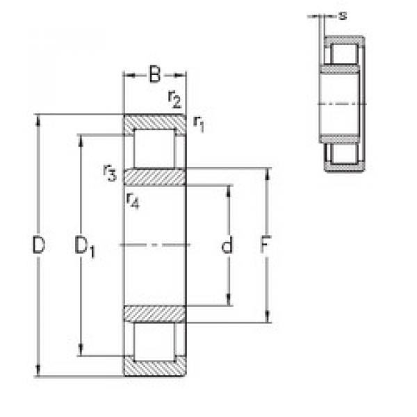 підшипник NU2210-E-MA6 NKE #1 image