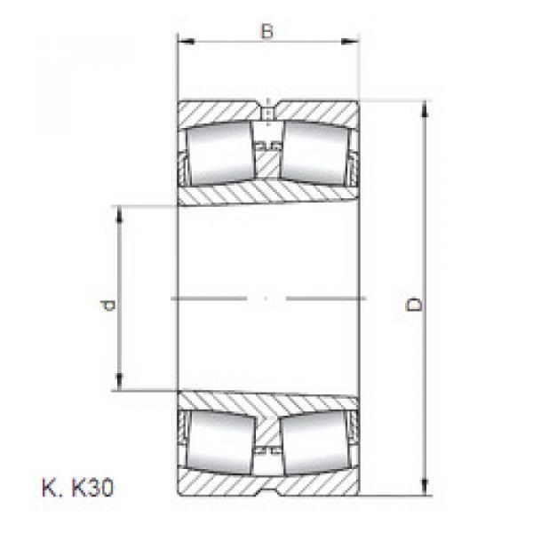 підшипник 240/950 K30W33 ISO #1 image