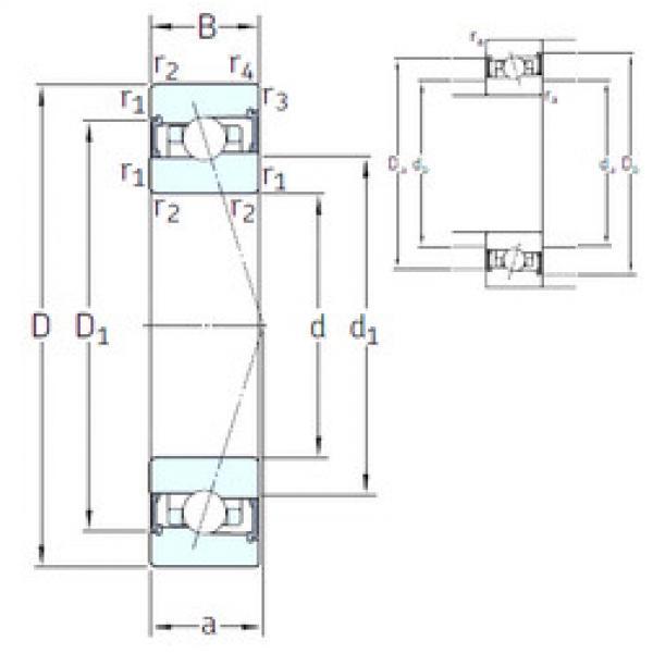 підшипник HX55 /S 7CE3 SNFA #1 image