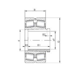підшипник 23952 KCW33+AH3952 ISO