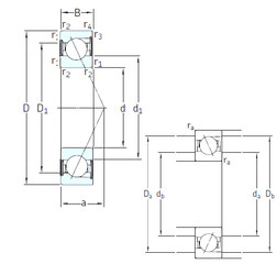 підшипник SS7212 CD/P4A SKF