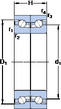підшипник BTM 140 BM/P4CDB SKF