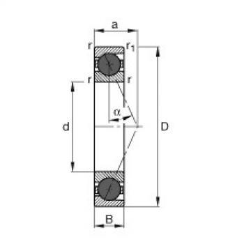підшипник HCB7220-E-T-P4S FAG