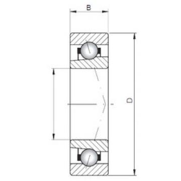підшипник 71815 C ISO