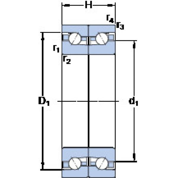 підшипник BTM 140 BM/P4CDB SKF #1 image